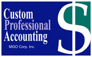 Custom Professional Accounting Logo